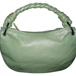 Bottega Veneta Woven Medium Intrecciato Hobo Green